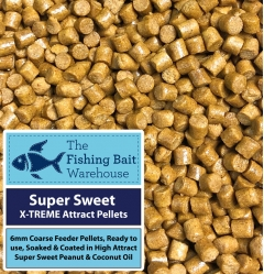 super sweet x-treme attract feeder pellets 6mm